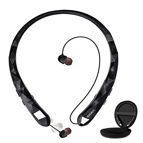 Bluetooth Headphones, Wireless Earbuds, Bluetooth 5.0 Noise Canceling Headphones A10