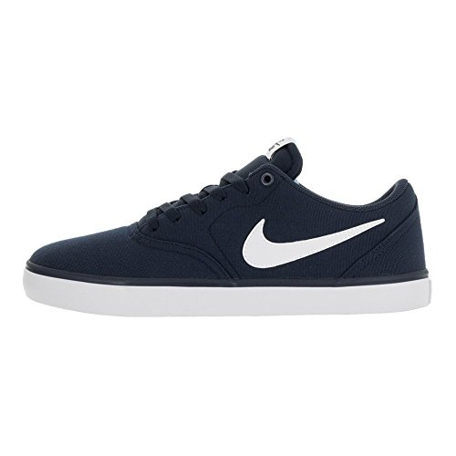 Homme White NIKE Midnight Basses SB 400 Solar Bleu Navy Sneakers Check CNVS wqYwUpv