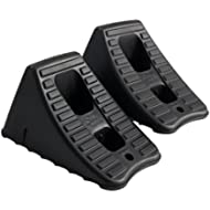 Hopkins 11930MI FloTool Heavy Duty Wheel Chocks, Set of 2