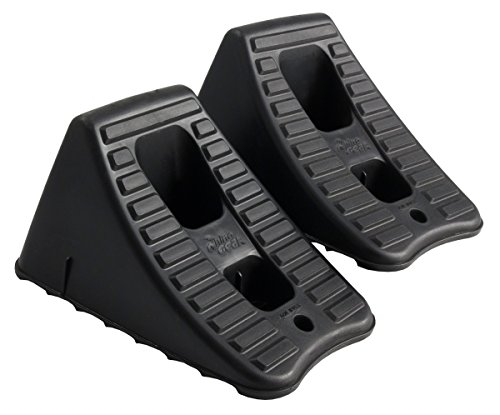 FloTool 11930MI Heavy Duty Wheel Chocks, Set of 2 (Auto Chocks)