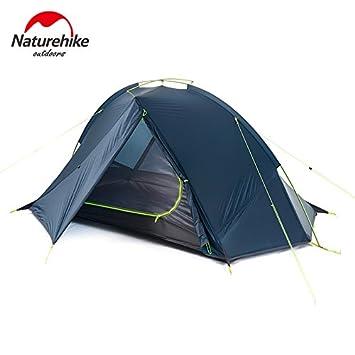Amazon.com  NatureHike Taga 1-2 Person Tent C&ing Backpack Tent 20D Ultralight Fabric NH17T140-J (1 person Blue)  Sports u0026 Outdoors  sc 1 st  Amazon.com & Amazon.com : NatureHike Taga 1-2 Person Tent Camping Backpack Tent ...