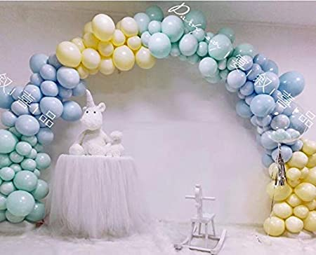 DIY Balloon Arch Garland Decorating Strip Kit 16Ft Balloon Tape Strip with 3 Rolls Balloon Glue Point Dots 300 Stickers For Party Decoration