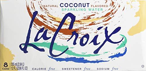 La Croix Sparkling Water Coconut 12 oz (24 Cans)