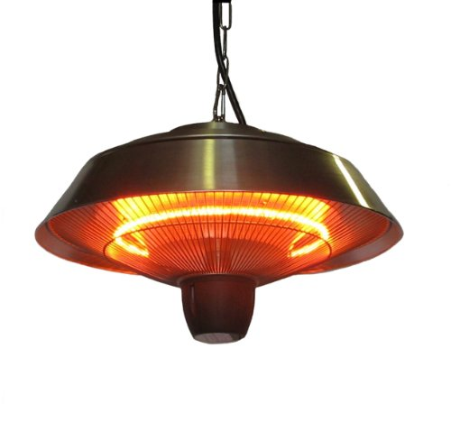 - Ener-G+ HEA-21523 Outdoor/Indoor Infrared Hanging Heater Water and Dust Resistant, Safe for Kids and Pets