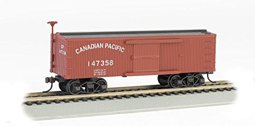 (Bachmann Industries Canadian Pacific Old-Time Box Car (HO Scale Train))