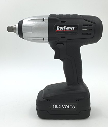 Gino Development 01-0100 19.2V TruePower 300 ft.lbs. 1/2' Drive Cordless Impact Wrench Kit