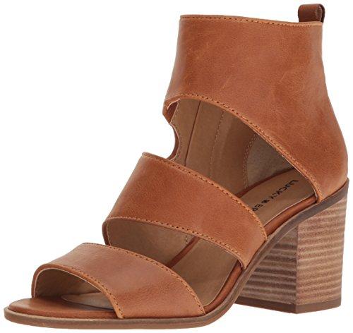 Lucky Women's Lk-Kabott Heeled Sandal, Cafe, 8 M US by Lucky Brand