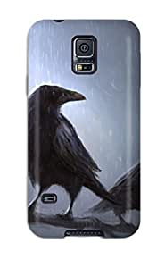 New Premium MeSusges Ravens Original Skin Case Cover Excellent Fitted For Galaxy S5 by icecream design