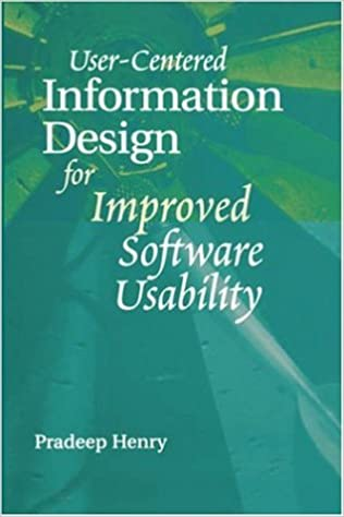 User-Centered Information Design for Improved Software