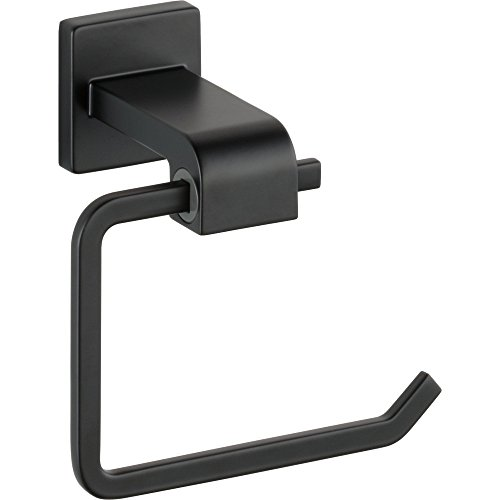 - Delta 77550 Ara Wall Mounted Single Hook Tissue Holder, Matte Black