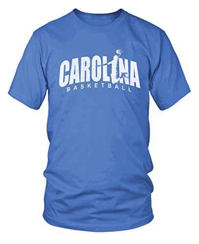 North Carolina Tarheels Basketball T Shirt   Black  Xl