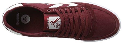 Hummel Slimmer Low Basses Adulte Mixte cabernet Sneakers Rouge Stadil 11TznZWr