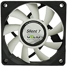 GeLid Silent 7 FN-SX07-22 70mm Durable Low Noise Cooling Fan with Screws