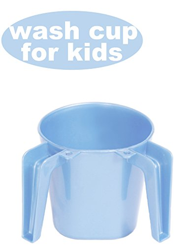 Ybmhome Ybm Home Plastic Square Small Wash Cup Ba156 (Light Blue, 1) - Wash Square