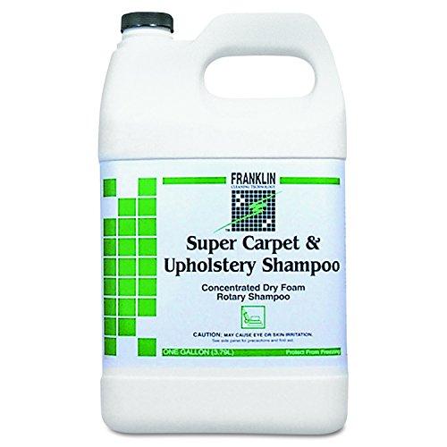 Franklin Machine - Franklin Cleaning Technology F538022 Super Carpet & Upholstery Shampoo, 1gal Bottle