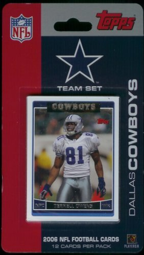 2006 Topps Dallas Cowboys Limited Edition Football Cards ...