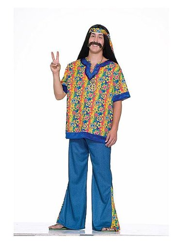Forum Novelties 62097F Mens Plus Size Hippie Dude Costume