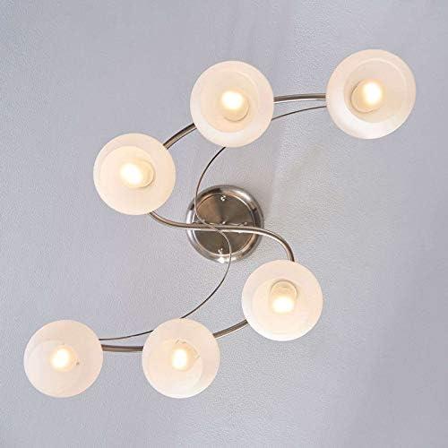 Houkiper Fairy Light Pendant Suspendus Plafond En Aluminium Lumi/ère Lune et /étoiles Fairy LED Suspension pour Enfants Chambre /Éclairage D/écoration Day White, Pack of 1X LED Pendant Light