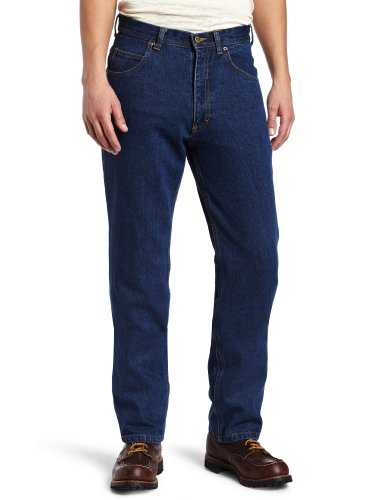 Heavyweight Cotton Denim Work Jeans - 7