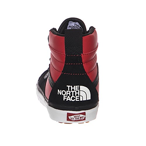 hi Negro Face Mte Zapatos X North Vans The rojo 46 Sk8 aEqRCxw6
