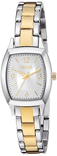 Relic by Fossil Women's Everly Japanese-Quartz Watch with Stainless-Steel Strap, Multi, 10 (Model: ZR34501)