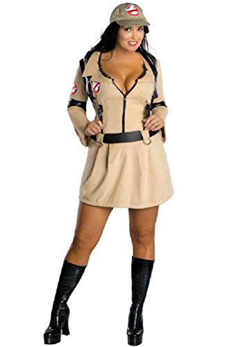 [8eighteen Ghostbusters Plus Size Ghostbusters Dress Adult Halloween Costume] (Ghostbusters Plus Size Costumes)