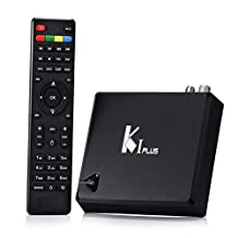 KI PLUS T2 Smart TV Box Android 5.1 Amlogic S905 Quad Core 1GB/8GB 2.4G WiFi 3D 4K Streaming Media Player