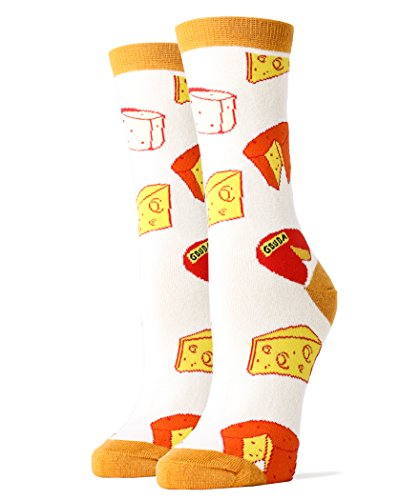Women Crew Funny Novelty Socks Make That Cheddar