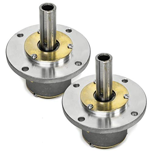 - 2PK Spindle for Bobcat 36082N Exmark 42006, Jacobsen 552312, Snapper 7059964, 76645, 5-9964 & Lesco 050150