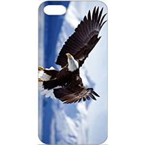DIY Apple iPhone 5 Case Customized Gifts Personalized With Animals Bald Eagle In Flight Alaska Wide Birds Animals...