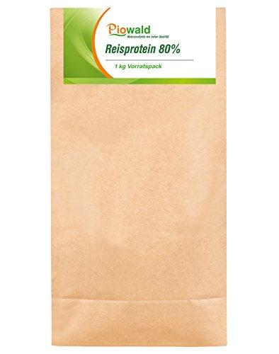 Reisprotein 80% - 1 kg Vorratspackung