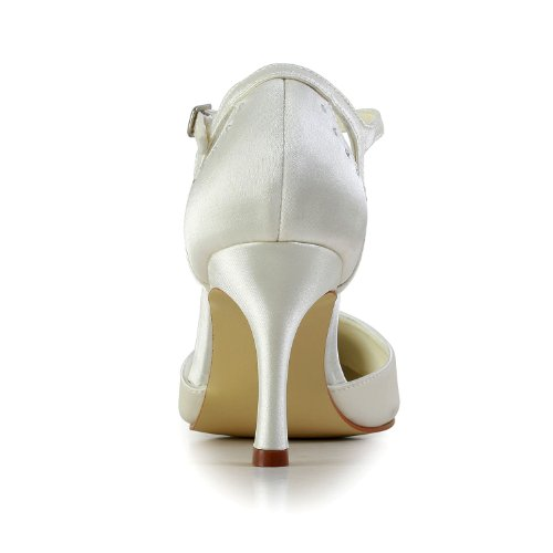 Jia Jia Wedding A3115 Hochzeitsschuhe Brautschuhe Damen Pumps Beige