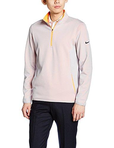(ナイキゴルフ) NIKE Golf ゴルフ ハイバービス1/2 ジップ ジャケット 803277 [メンズ] 803277 012 ウルフグレー/トータルオレンジ/(ブラック) XXL