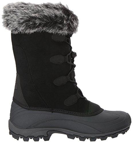 Kamik Kvinna Momentums Snö Boot Svart Mocka