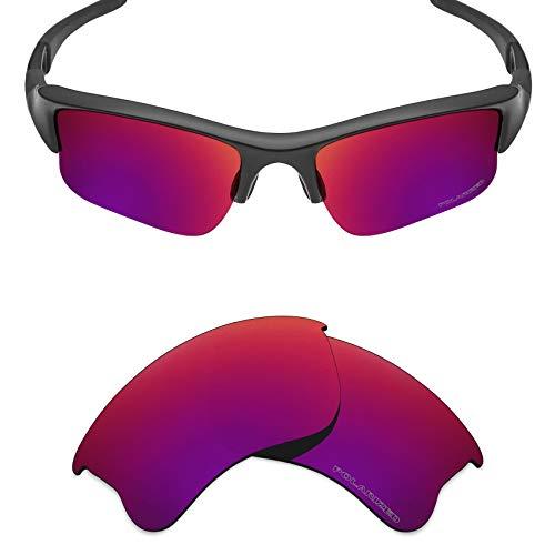Mryok+ Polarized Replacement Lenses for Oakley Flak Jacket XLJ - Midnight ()