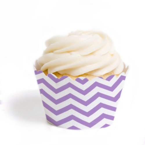 Dress My Cupcake Wrappers Lavender