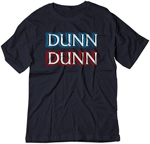 BSW Men's Dunn Dunn Law and Order TV Show Opening Shirt XL Navy