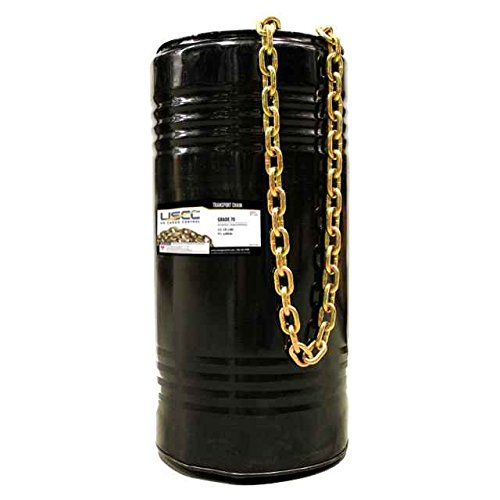 3/8'' x 400' Grade 70 Standard Link Transport Chain, Binder Chain in Drum by US Cargo Control