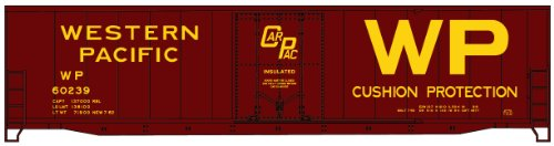 (Accurail 5818 HO KIT 50' Plug Door Welded Box, WP)