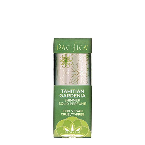Pacifica Tahitian Gardenia - Tahitian Gardenia by Pacifica Shimmer Solid Perfume Women's Perfume 0.25 oz, pack of 1