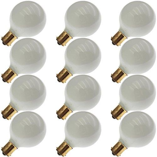 Industrial Performance 13G16.5/W/SC12V, 13 Watt, G16.5, Bayonet (BA15S) Base Light Bulb (12 Bulbs) (12v 13 Bulb Watt)