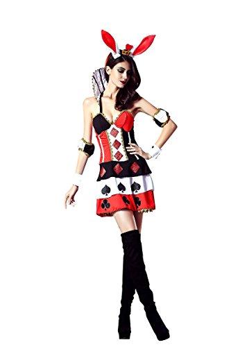 [Sunnorn Women's Siamese Rabbit role-playing Fun Uniforms Halloween costume] (Cool Costumes For Halloween 2016)