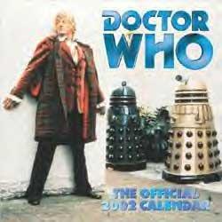 2002 Desk Pad Calendars - Doctor Who Official 2002 Calendar