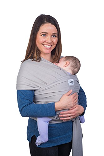 5a72e52483c Grey Baby Wrap Sling by Cozitot