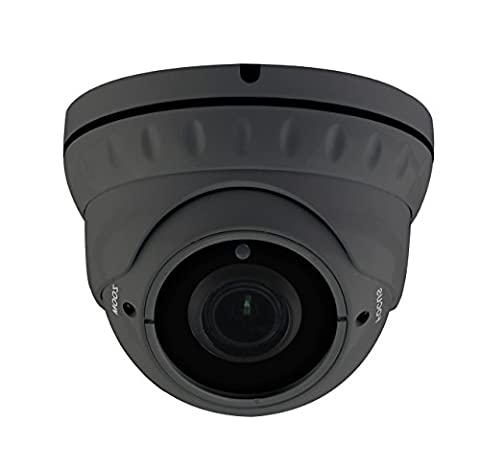 HDView 2.4MP 4-in-1 (TVI/AHD/CVI/960H) 1080P Outdoor SONY Sensor Super Matrix EXIR 2.8-12mm Vari-Focal Lens Turbo Platinum Dome - Everfocus Alarm
