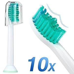 Dobet Sonicare – Cabezales para cepillo de dientes, compatible con PHILIPS asas de fácil,