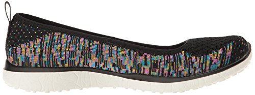 Skechers Sport Donna Microburst One Up Fashion Sneaker Nero / Multi