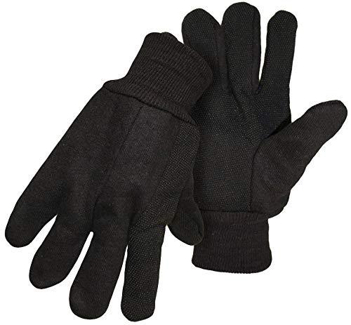 Boss Gloves 4024 Large Unlined Plastic Dot Gloves