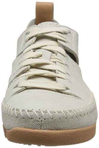 Clarks Womens Off White Trigenic Flex Trainers-UK 3 mC2Ah7