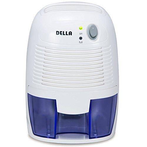 [해외]소형 공간 용 Della 휴대용 전기 제습기 미니 최대 500 입방 피트의 공기, 곰팡이, 가구 모으기/Della Portable Electric Dehumidifier Mini for Smaller Spaces Up